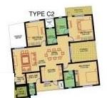 sobha carnation pune apartment 3 bhk 1500sqft 20215712135739