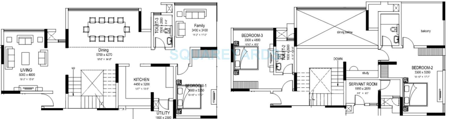 sobha elanza apartment 3bhk 3400sqft 1