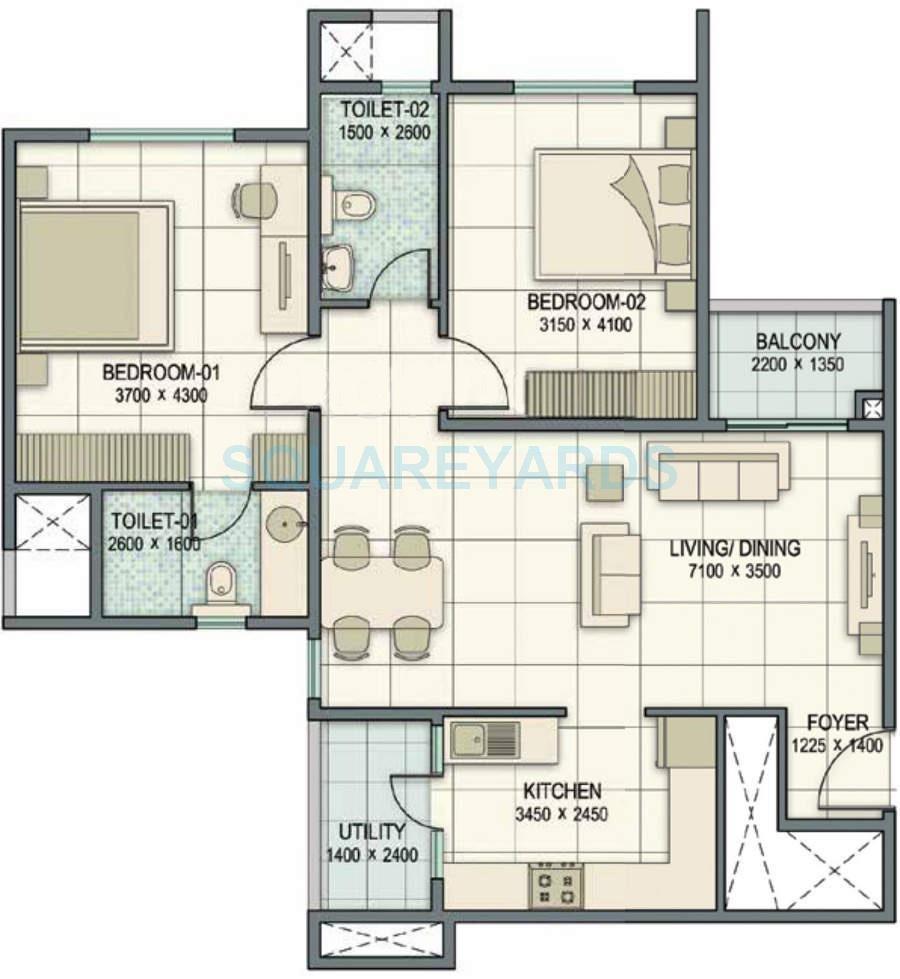 sobha orion apartment 2bhk 750sqft 20201824131812
