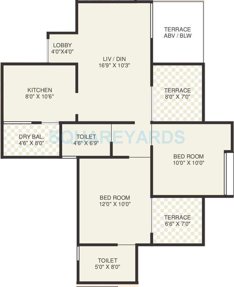 sukhwani gracia apartment 2bhk 1022sqft 10294