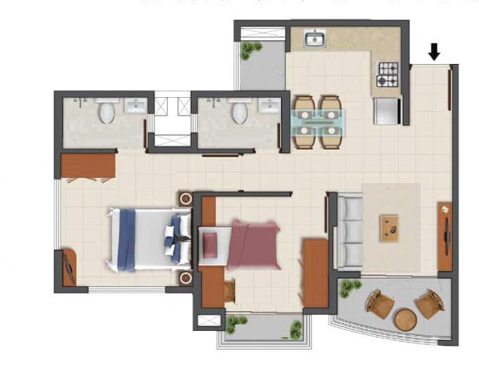 tata la montana phase 3 apartment 1 bhk 448sqft 20203221163256