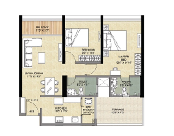 vascon forest edge phase 2 apartment 2 bhk 683sqft 20210906110950