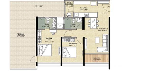 vascon forest edge phase 2 apartment 2 bhk 698sqft 20211206111227