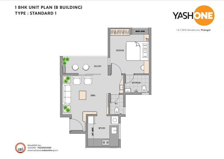 vilas javdekar yash one apartment 1 bhk 367sqft 20214010144030