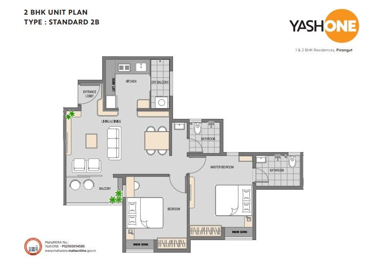 vilas javdekar yash one apartment 2 bhk 577sqft 20213810143826