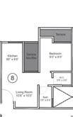 vtp bhagyasthan apartment 1bhk 428sqft 1