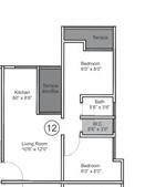 vtp bhagyasthan apartment 2bhk 574sqft 1