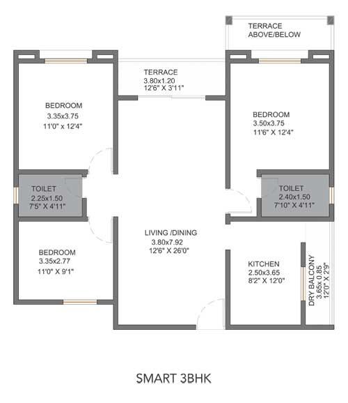 vtp pegasus apartment 3bhk 1050sqft51