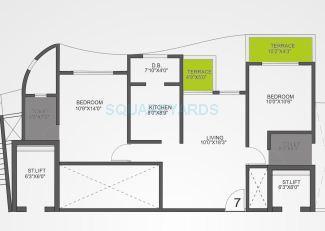 vtp urban life apartment 2bhk 1006sqft 1