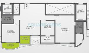 vtp urban life apartment 2bhk 1176sqft 1