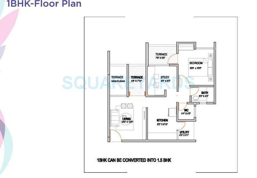 vtp urban rise apartment 1bhk 683sqft 1
