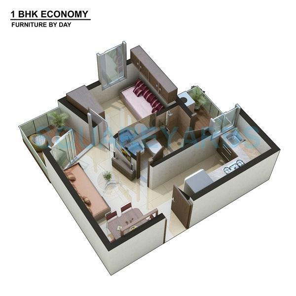 xrbia xrbia apartment 1bhk 442sqft 1