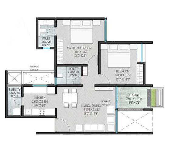 yashada epic phase 2 apartment 2 bhk 657sqft 20211614151602