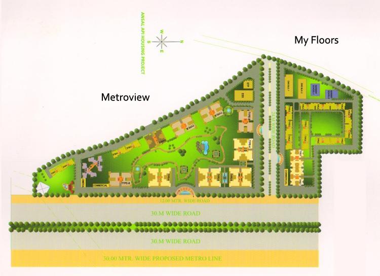 maxhights metroview project master plan image1