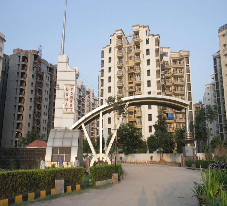 pardesi ushay tower project entrance view1