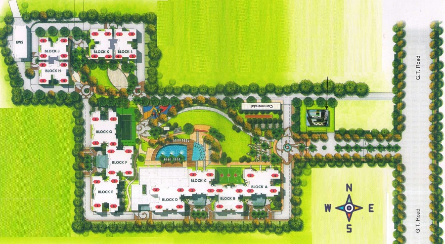 parker white lily project master plan image1