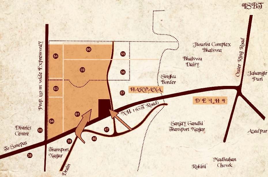 tdi tuscan city project location image1