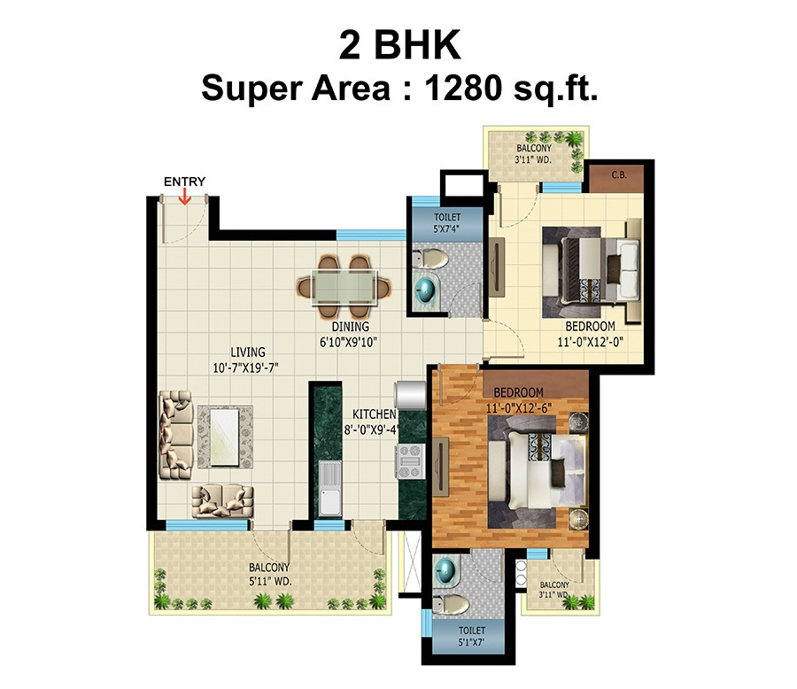 pardesi ushay tower apartment 2 bhk 1280sqft 20213025113056