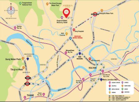 ambika city location image5