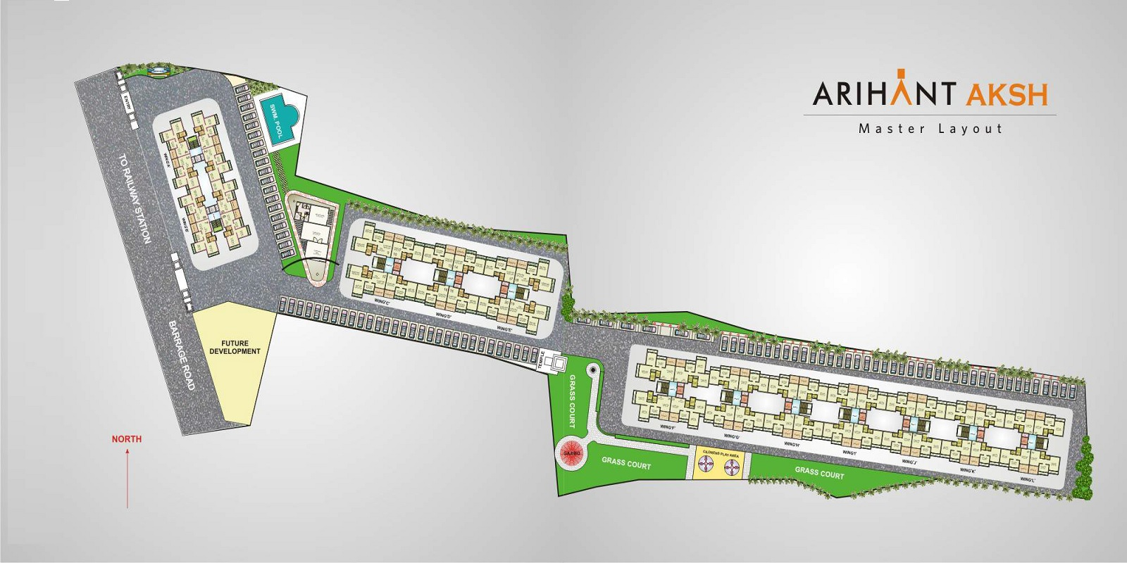 arihant aksh project master plan image1