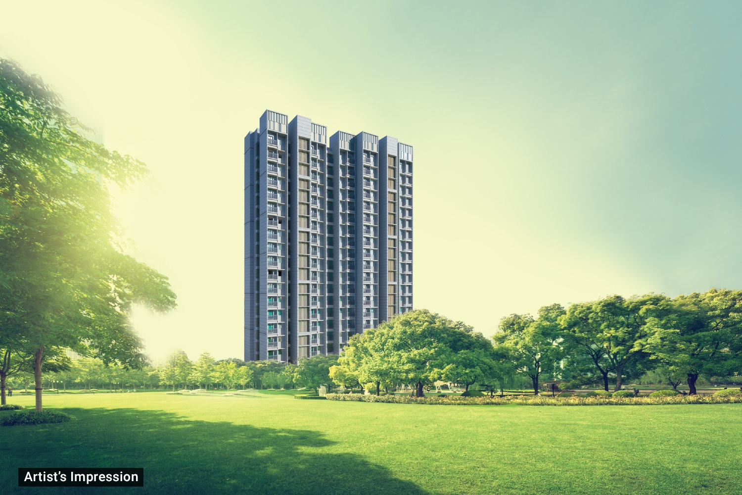 dosti desire project tower view1