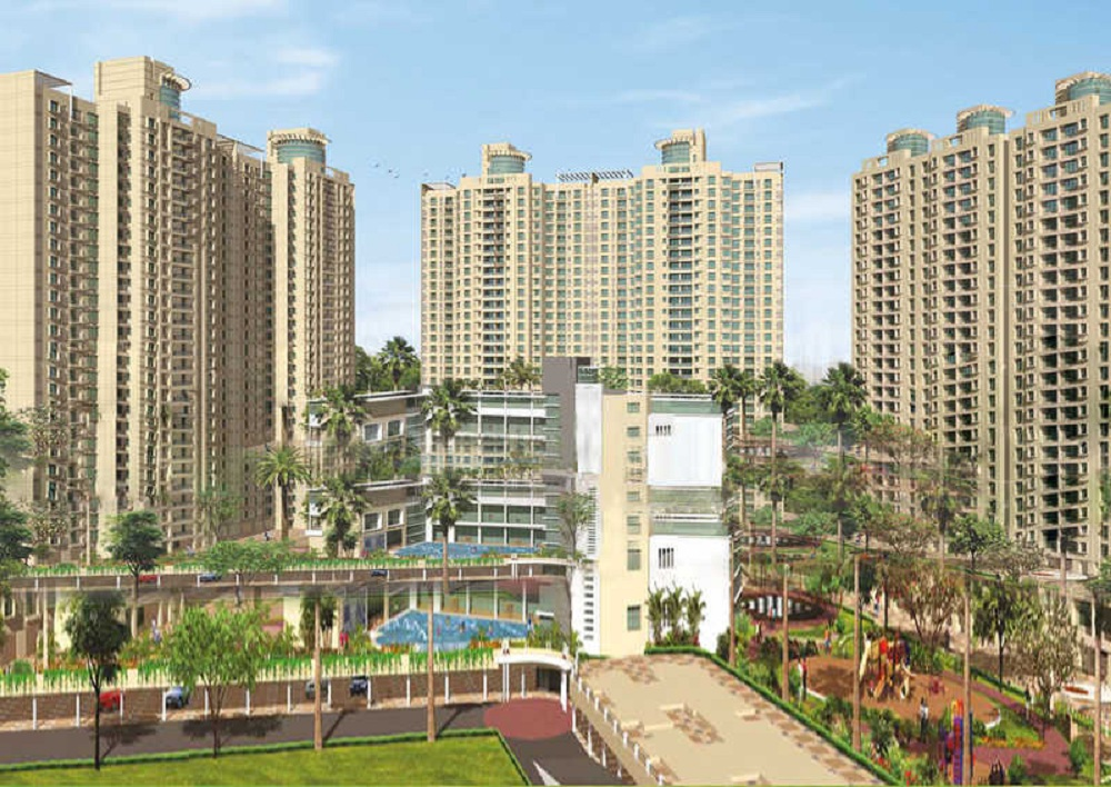 dosti group vihar project tower view1
