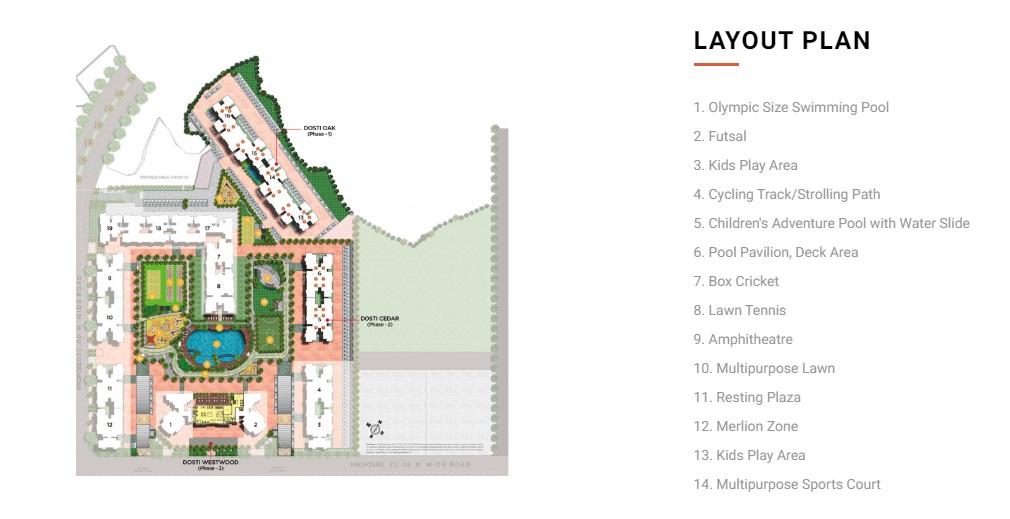 dosti oak master plan image4