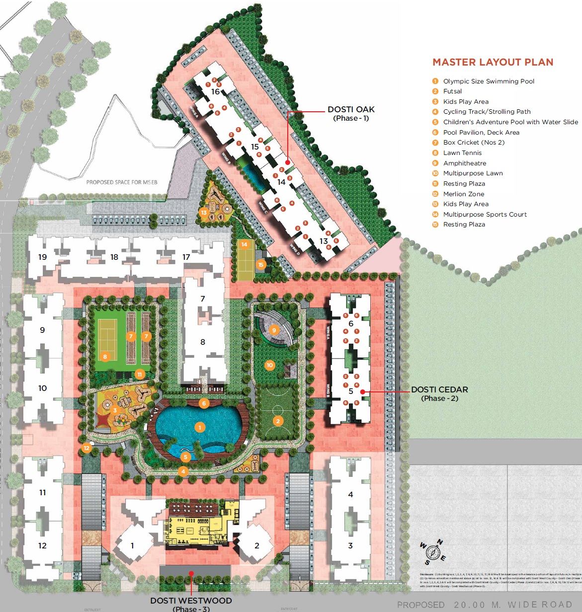 dosti west county master plan image1