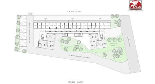 falco rivershire project master plan image1