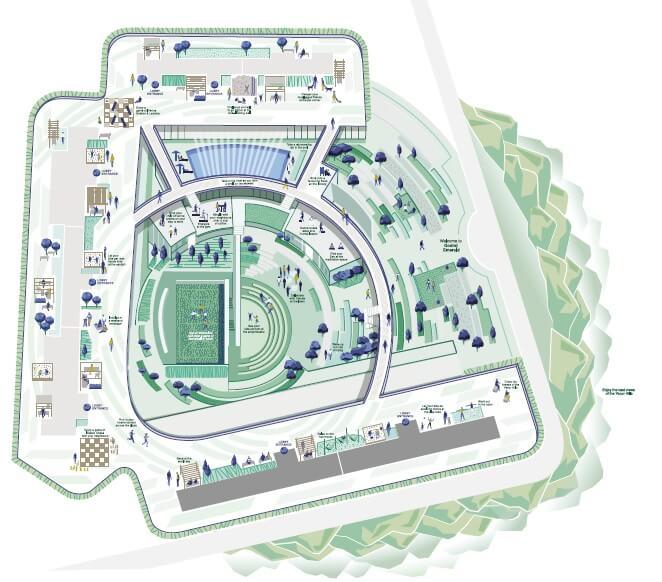 godrej emerald vista master plan image1