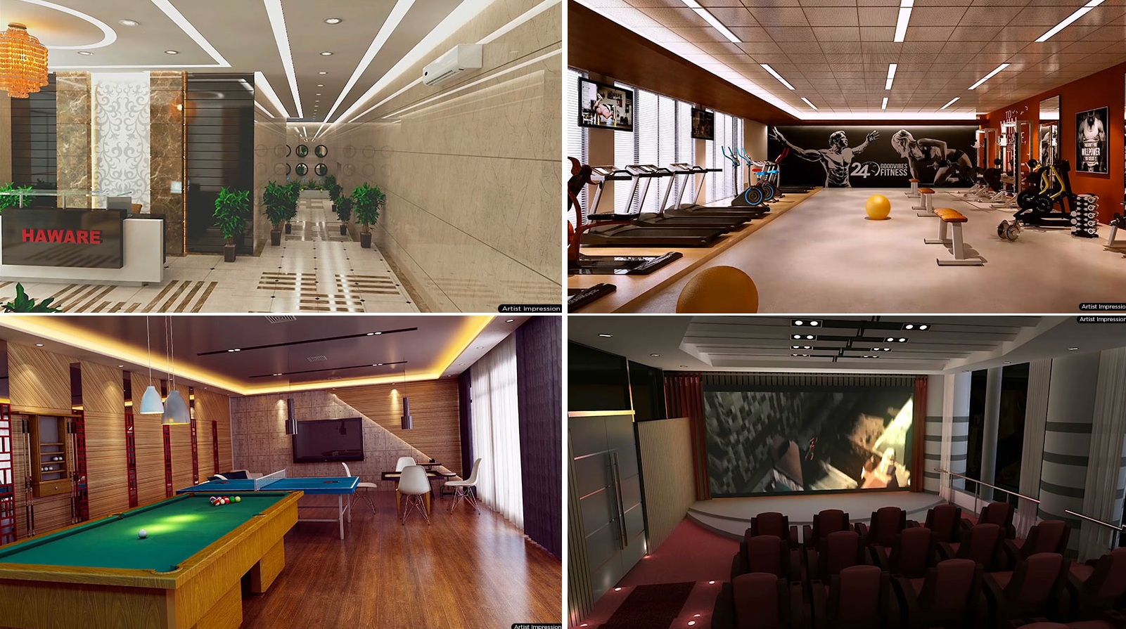 haware intelligentia spectrum project amenities features2