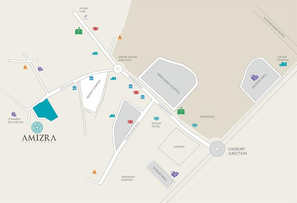 jagdale amizra project location image1