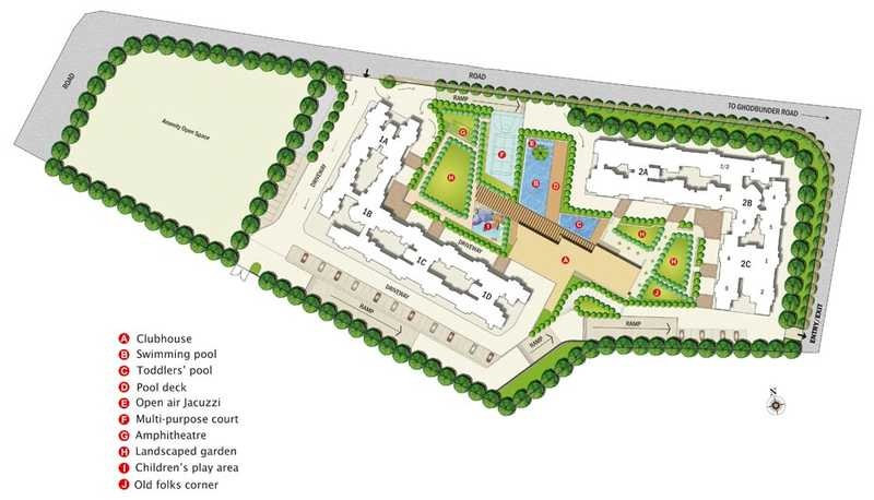 kalpataru hills project master plan image1