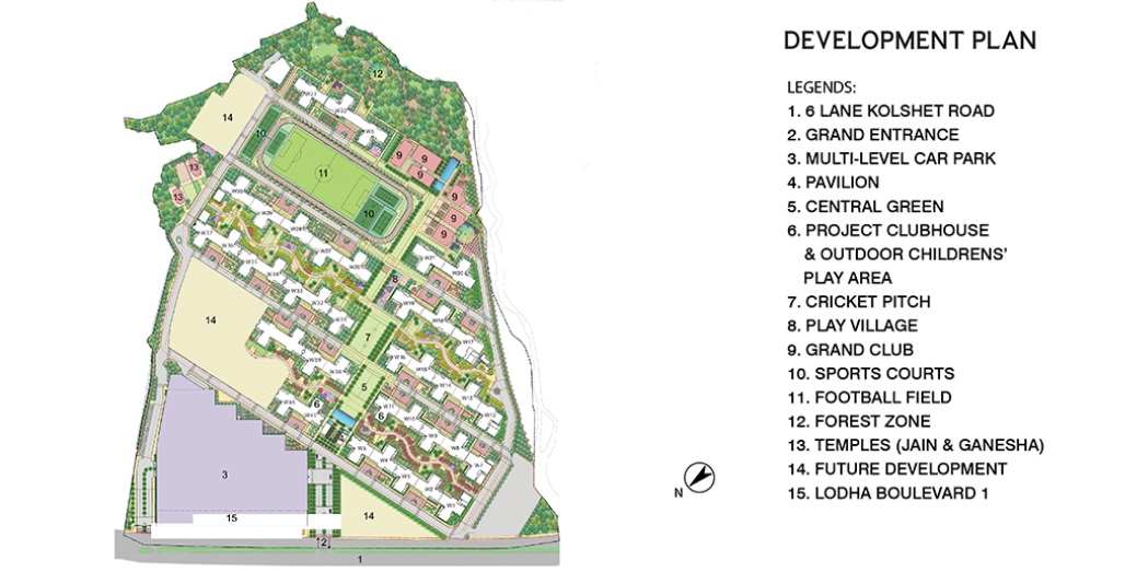 lodha amara tower 42 and 43 master plan image8