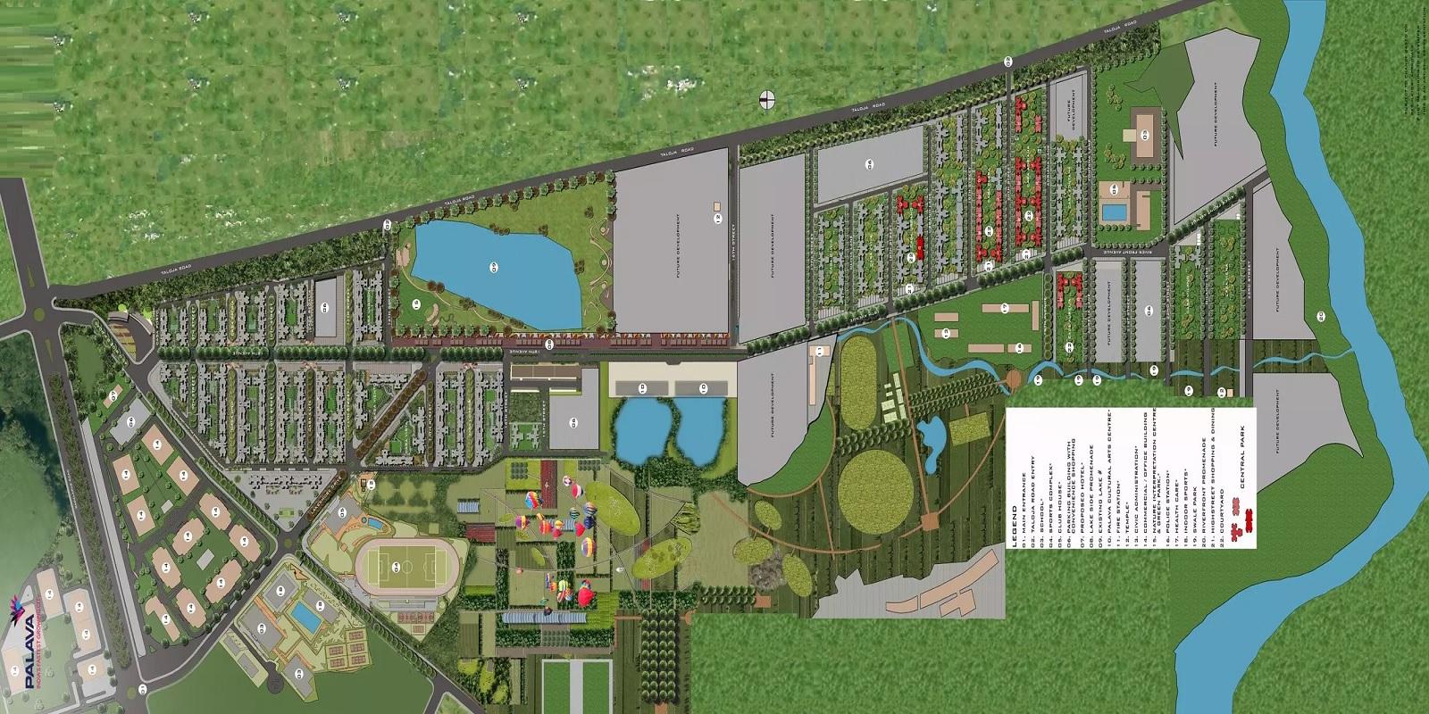 lodha centre park master plan image4