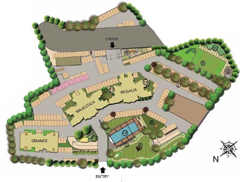 lodha grande master plan image1