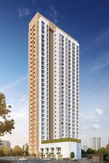 lodha majiwada tower 4 project tower view1