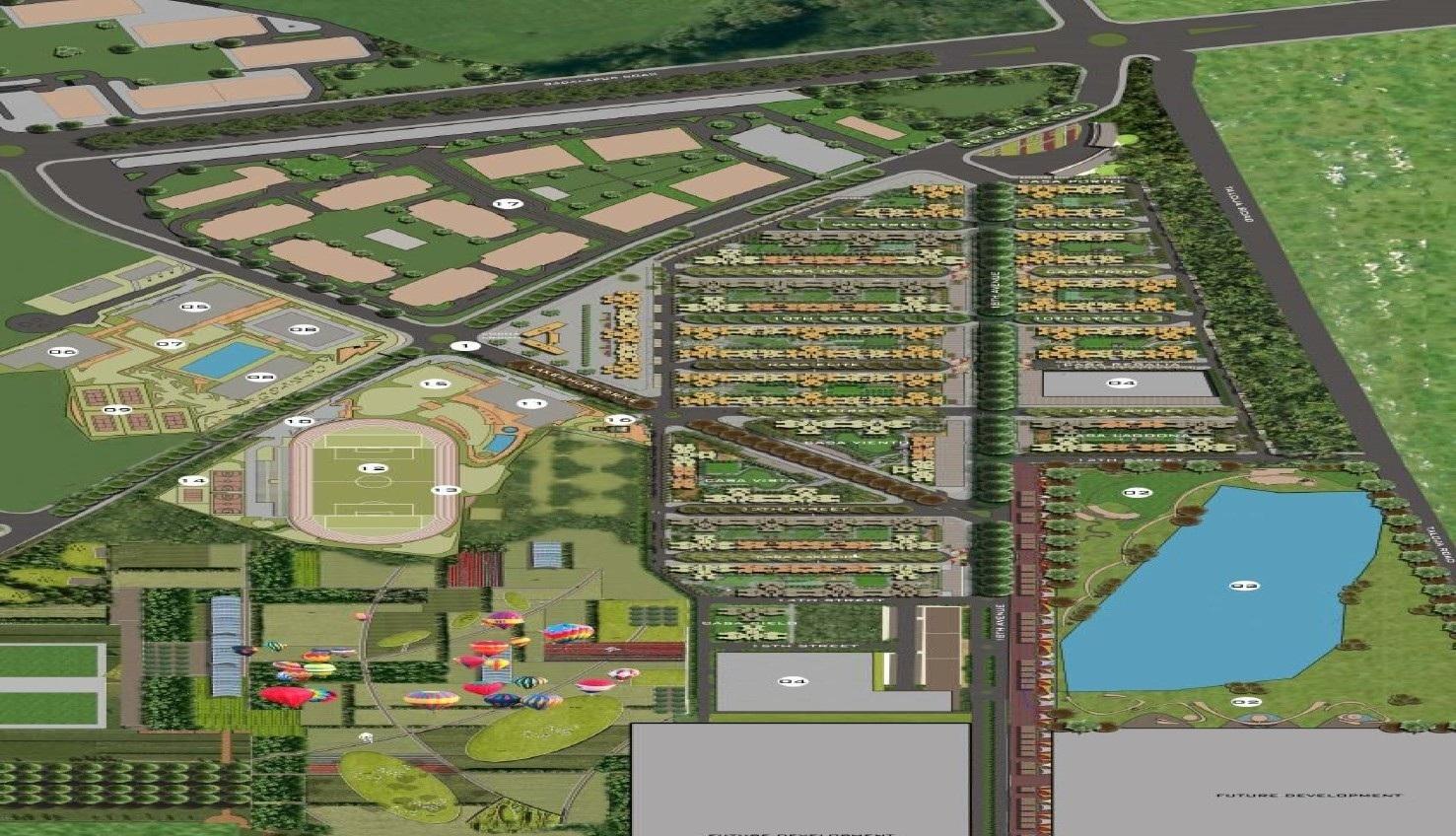 lodha palava marvella a h project master plan image1