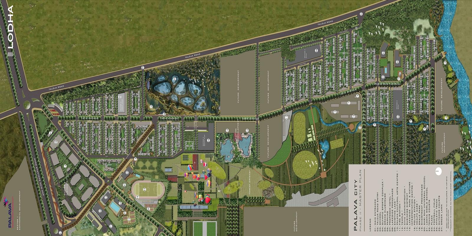 lodha palava riverside master plan image6