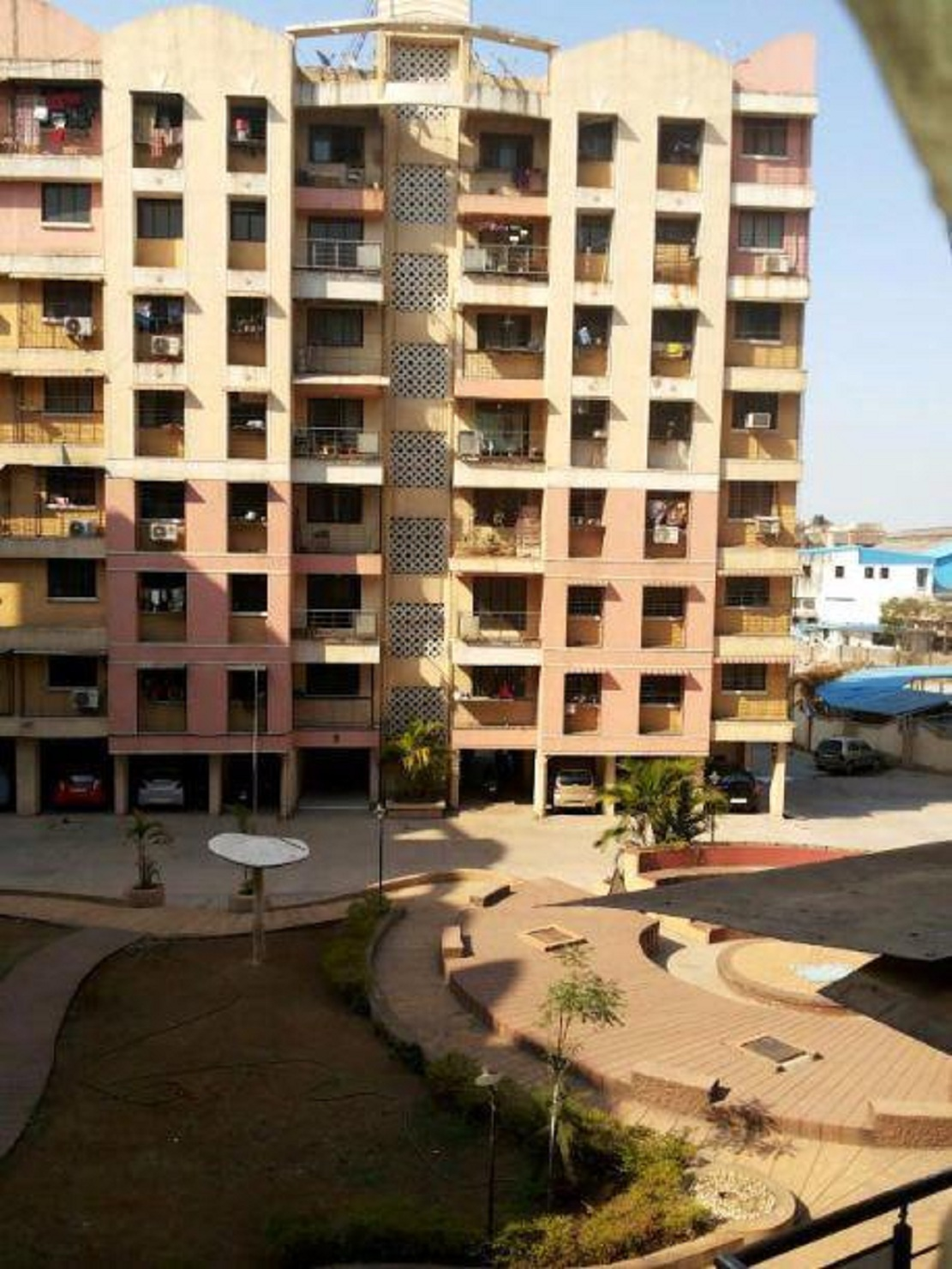lodha park project tower view2