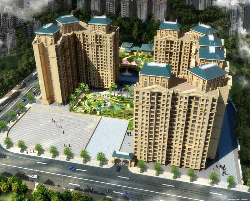 madhav palacia project tower view1
