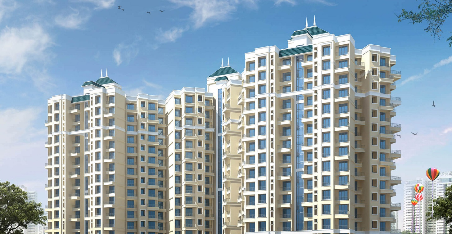 mohan areca project tower view1