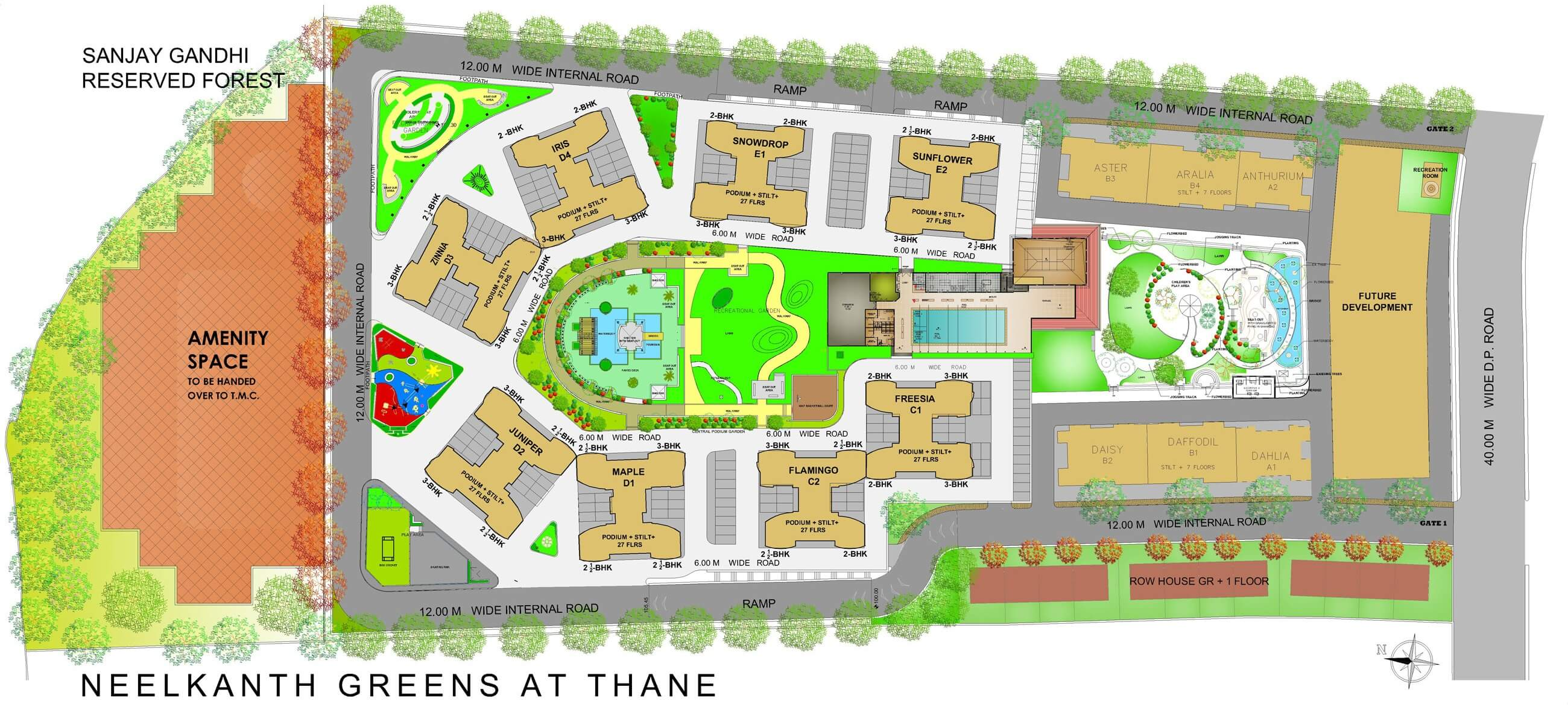 neelkanth greens master plan image1
