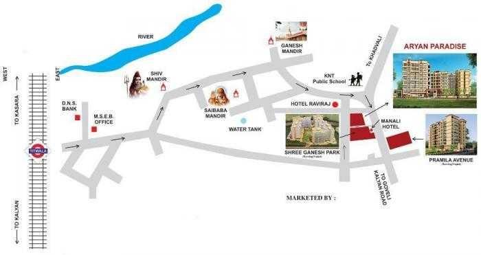 nidhi aryan paradise project location image1