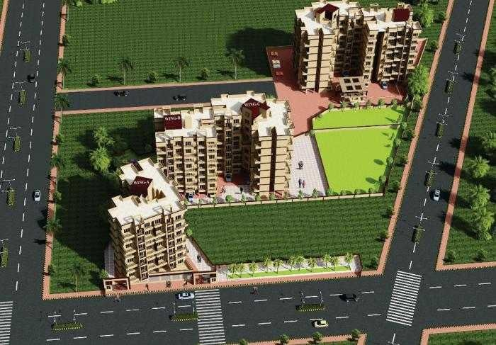 nidhi aryan paradise project tower view1