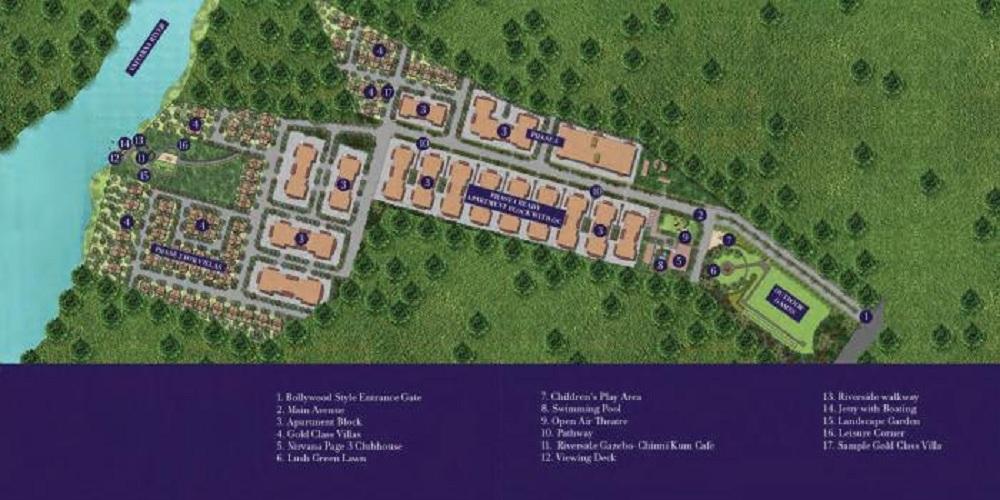 nirvana wollywood project master plan image1