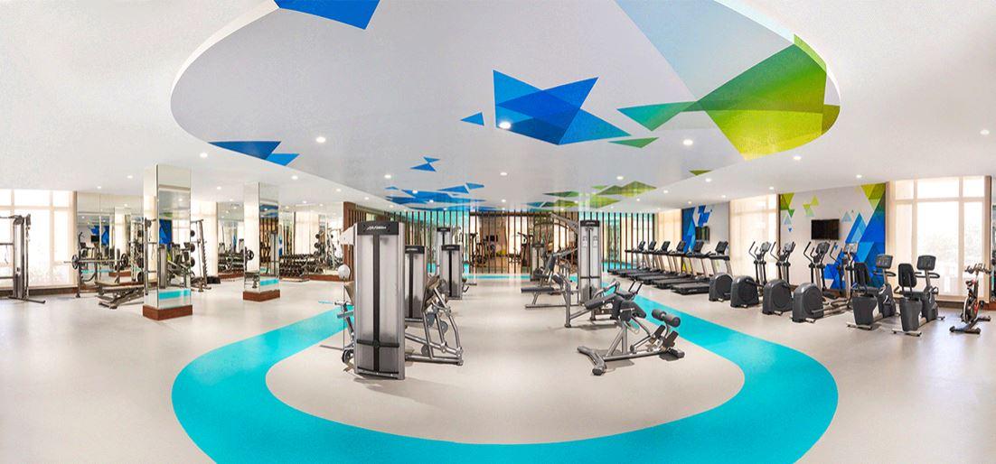 one hiranandani park cloverdale project gymnasium image1