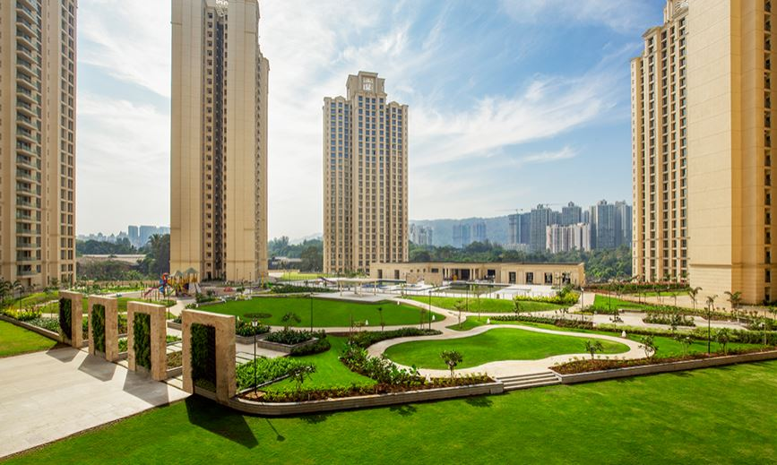 one hiranandani park project tower view1
