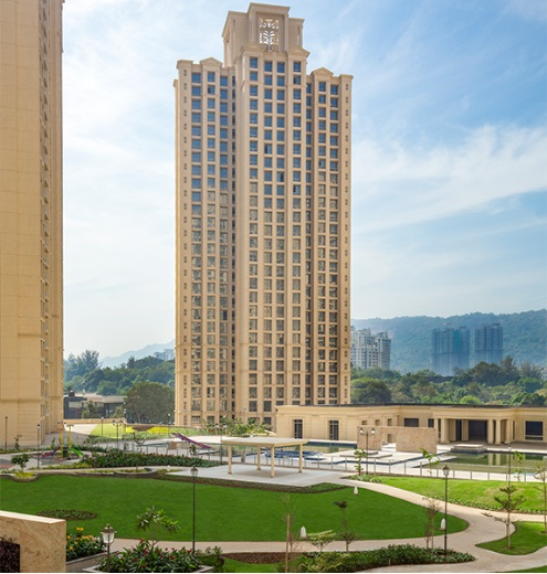 one hiranandani park project tower view2
