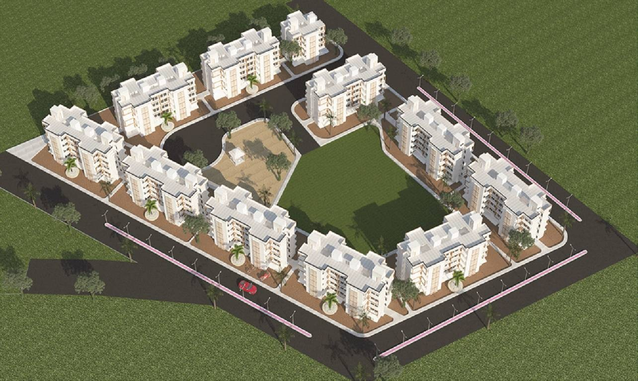 panchtatva appartment project master plan image1